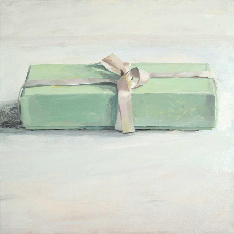 Überraschung, 40 x 40 cm, Öl/Lwd, 2009