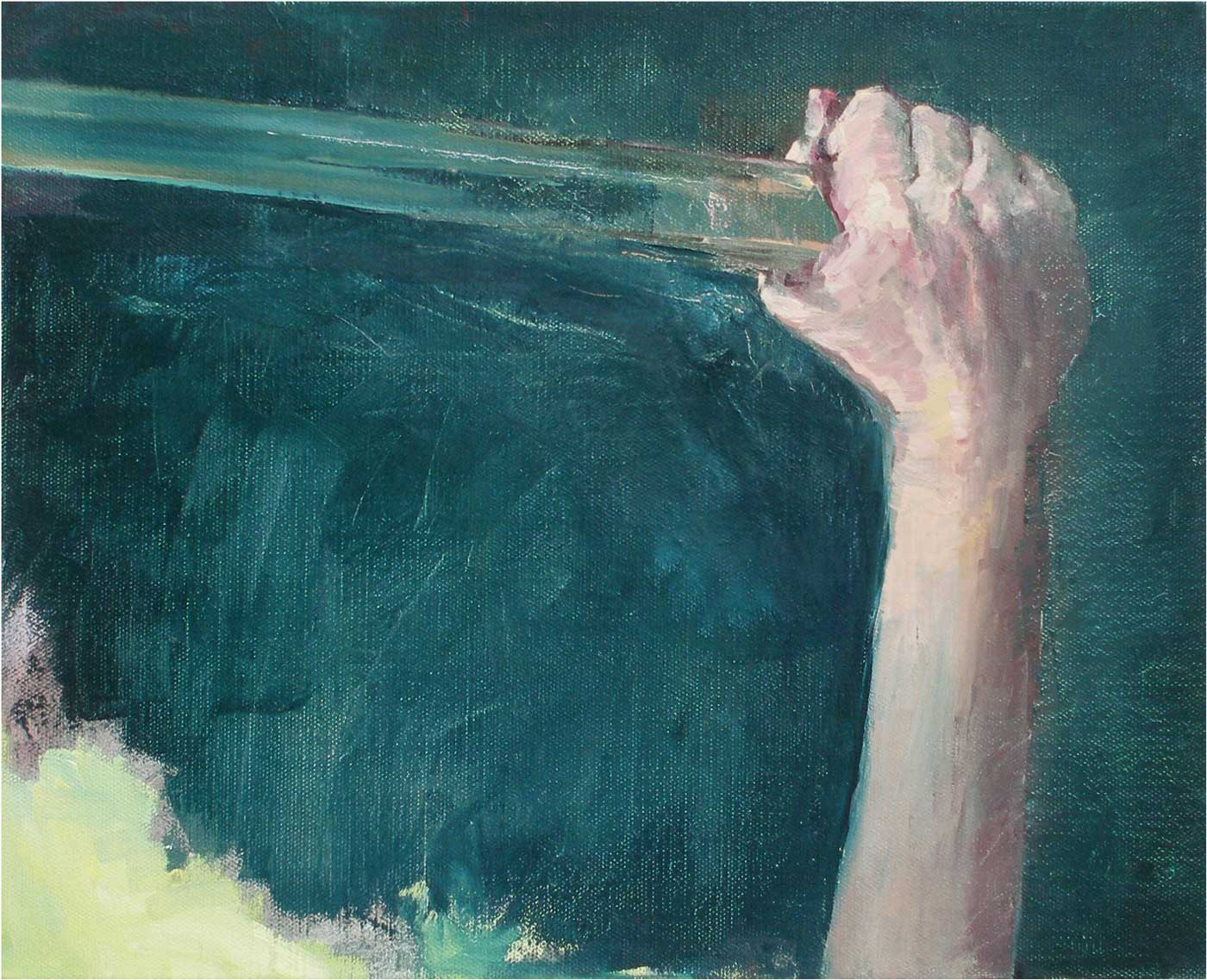 Schwert, 40 x 50 cm, Öl/Lwd., 2016