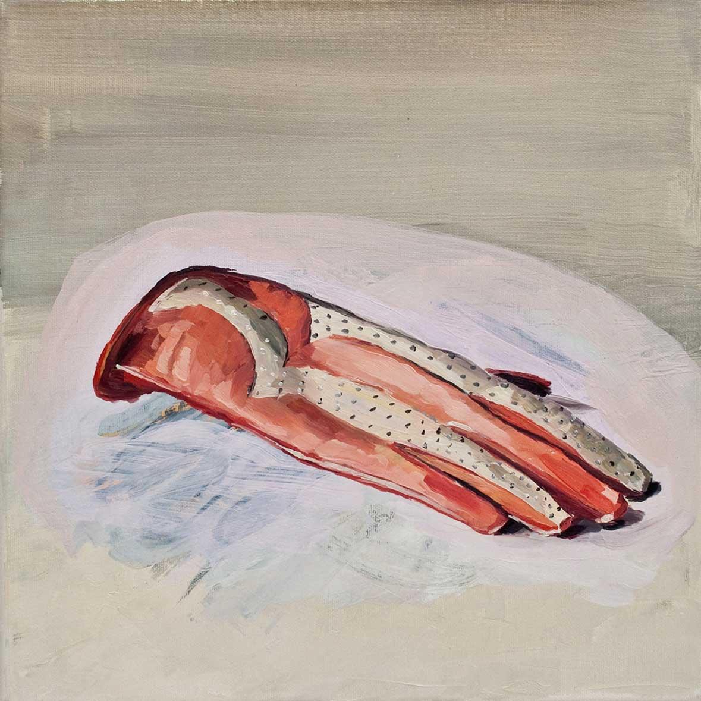 Handschuh, 40 x 40 cm, Öl/Lwd., 2010