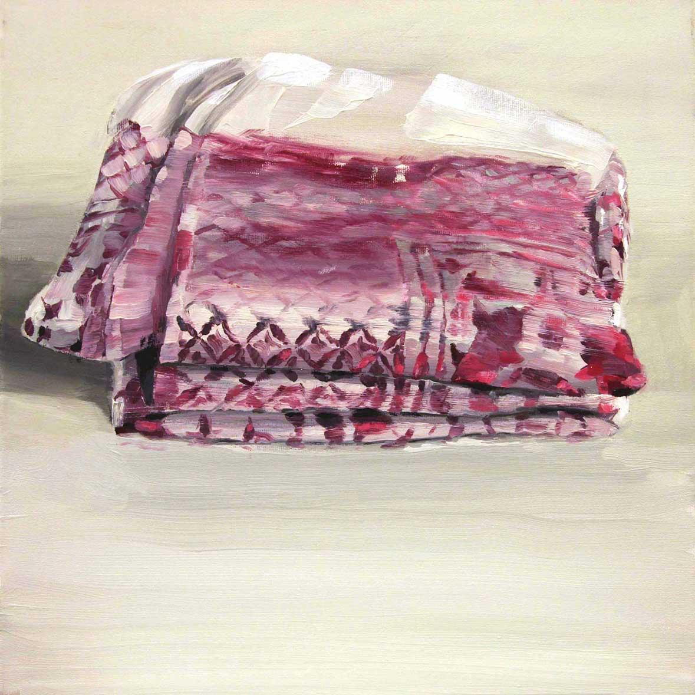 Arabeske 59, 40 x 40 cm, Öl/Lwd., 2012