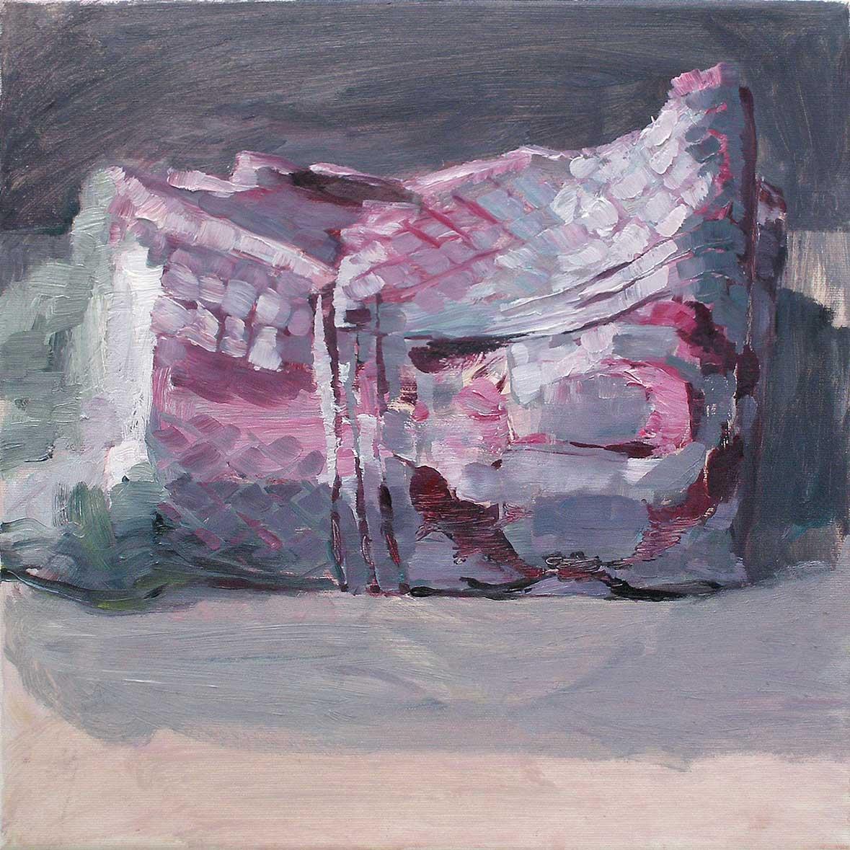 Arabeske 54, 40 x 40 cm, Öl/Lwd., 2012