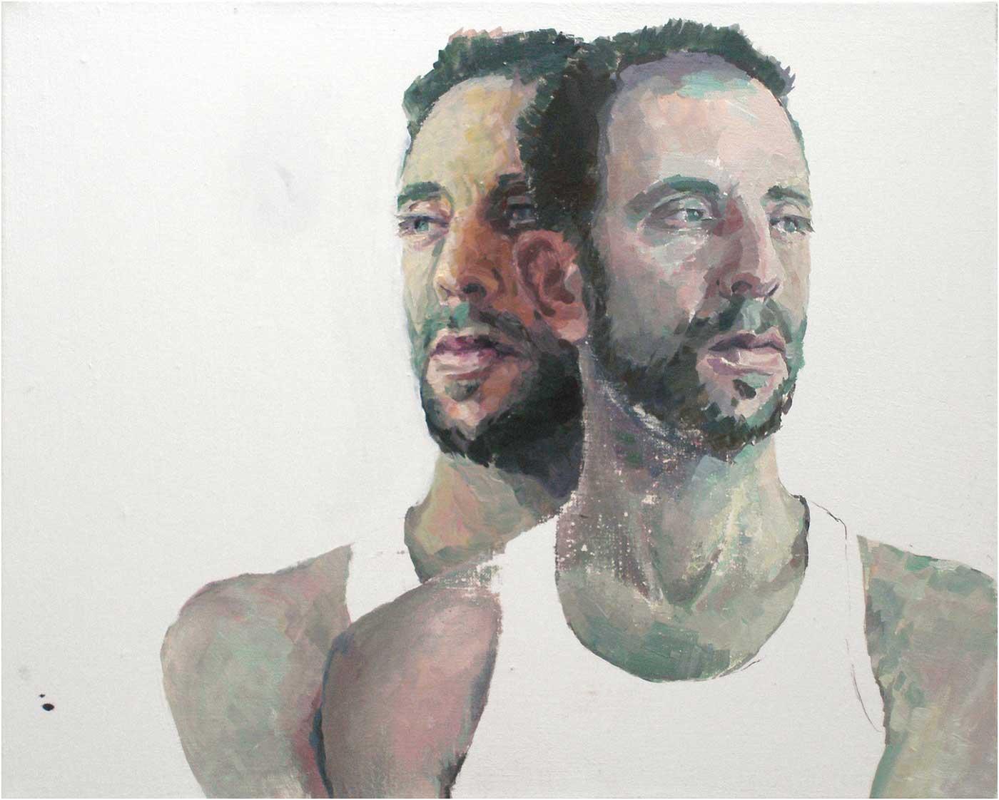Agustin, 40 x 50 cm, Öl/Lwd., 2016