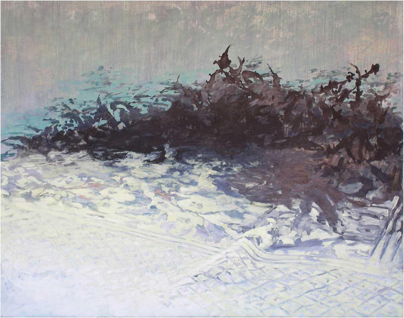 Arabeske 50, 120 x 155 cm, Öl/Lwd, 2014