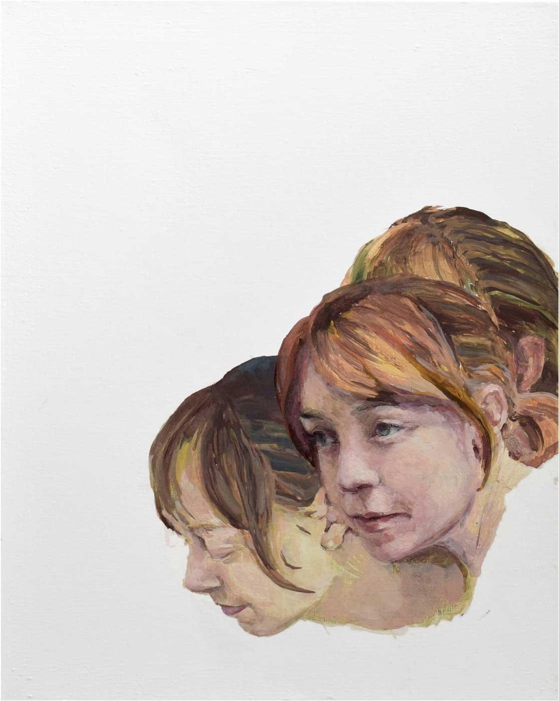 Carolin, 40 x 50 cm, Öl/Lwd., 2017