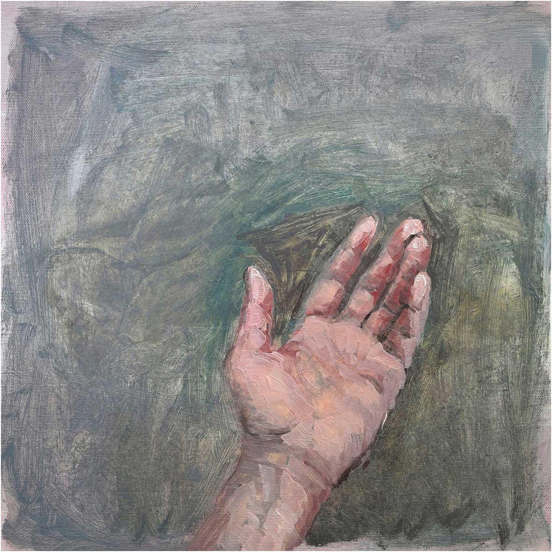 Hand, 40 x 40 cm, Öl/Lwd., 2015