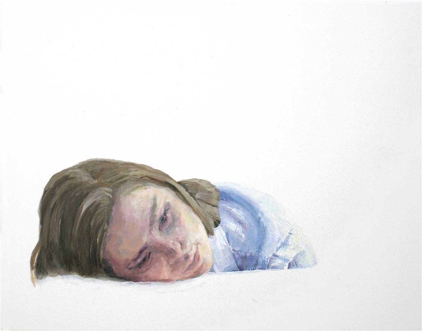 Lara, 40 x 50 cm, Öl/Lwd., 2017
