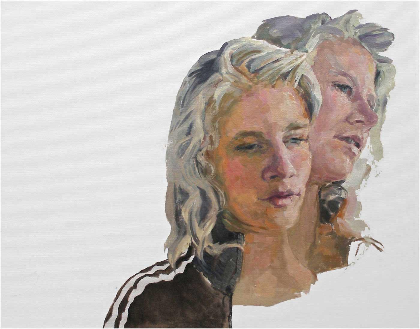 Myra, 40 x 50 cm, Öl/Lwd., 2016