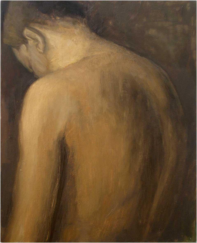 Siegfried, 50 x 40 cm, Öl/Lwd., 2015