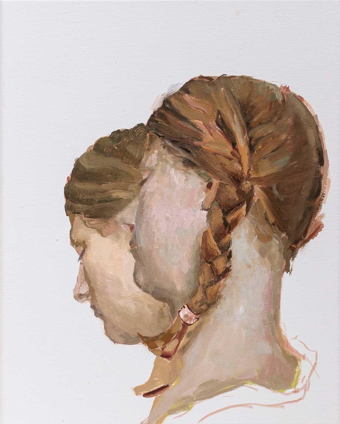 Sonja, 50 x 40 cm, Öl / Lwd. 2016