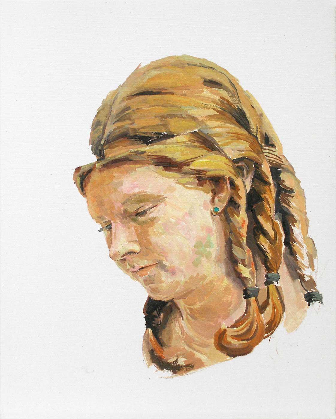 Triplett, 50 x 40 cm, Öl / Lwd. 2016