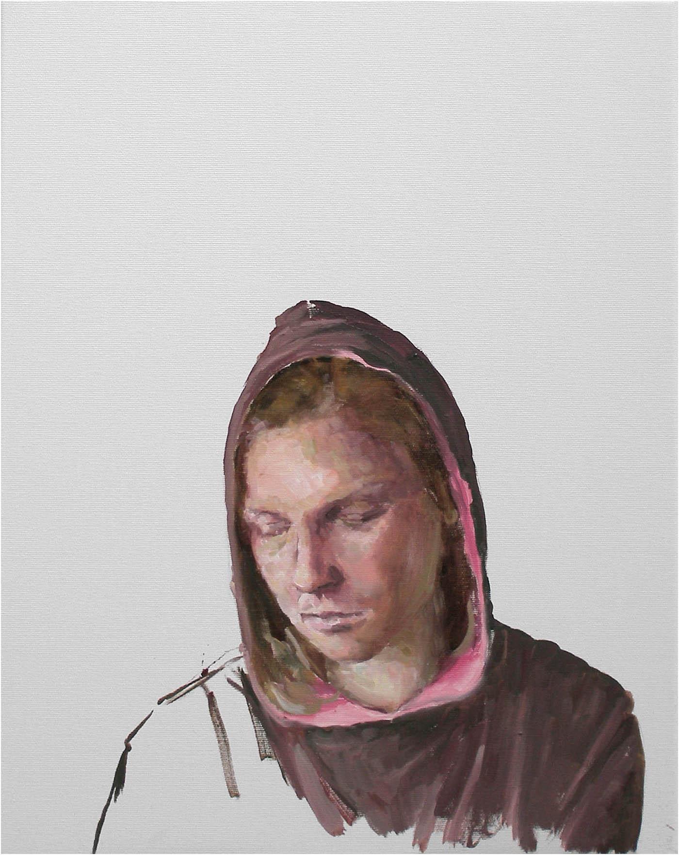 Hoody, 50 x 40cm, Öl/Lwd., 2018